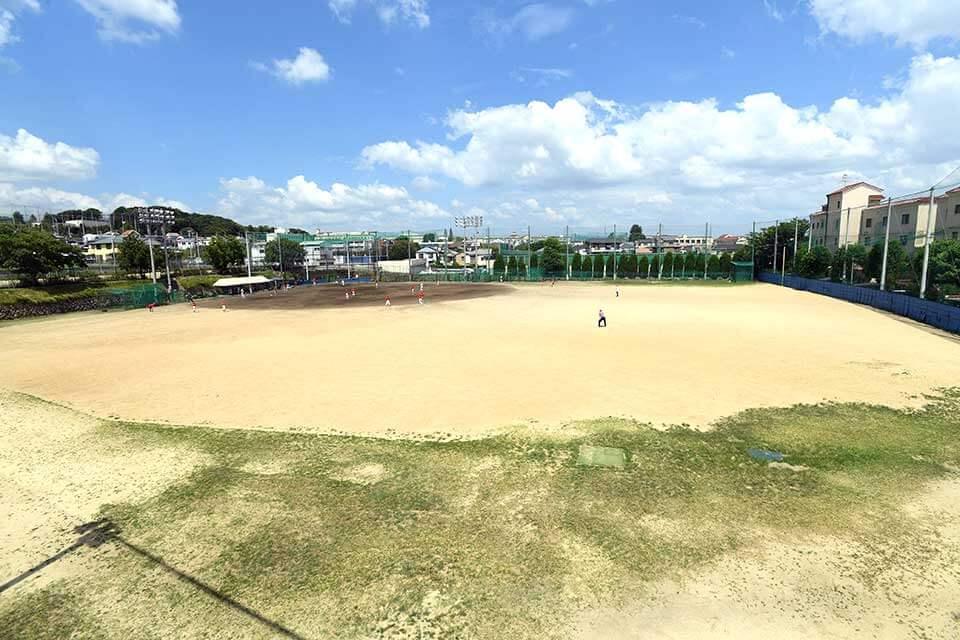 準硬式野球部練習場