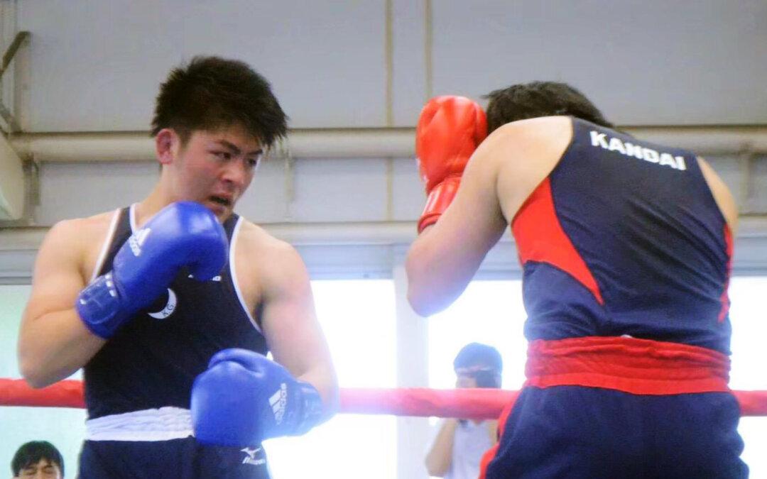 KGADに新たにボクシング部が加わりました。