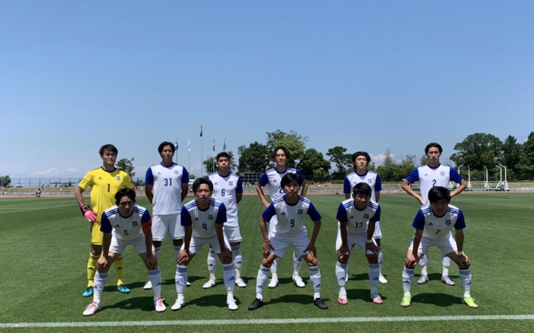 サッカー部 天皇杯1回戦を突破!